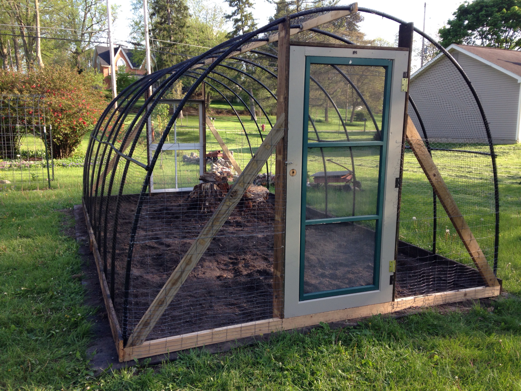 Garden Hoop House Deer Proof Mshaw